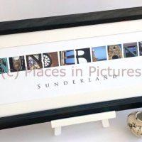 Sunderland Mounted Print