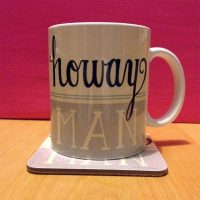 Howay Man North East Mug