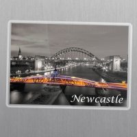 Newcastle Swing Bridge Fridge Magnet