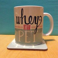 Whey Aye Pet North East Mug