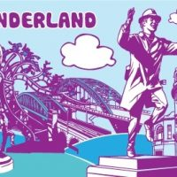 Sunderland Fridge Magnet