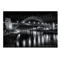 Newcastle Tyne Bridge Photo Print
