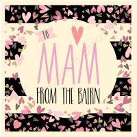 Mam From the Bairn Geordie Card