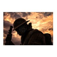 Tommy World War One soldier sculpture Seaham