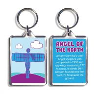 Angel Of The North Keyring