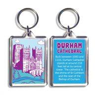 Durham Cathedral Keyring