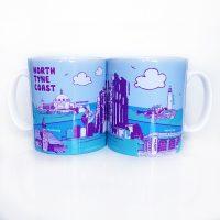 North Tyneside Coast Mug