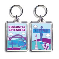 Newcastle Gateshead Keyring