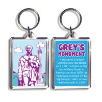 Newcastle Grey's Monument Keyring