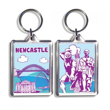 Newcastle Keyring