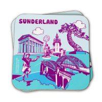Sunderland Icons Coaster