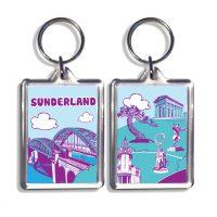 Sunderland Icons Keyring