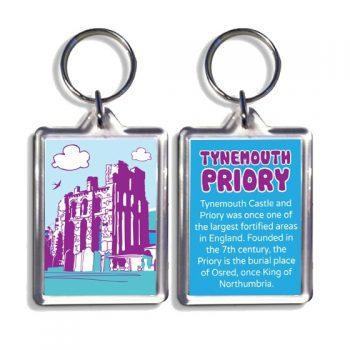 Tynemouth Priory Keyring