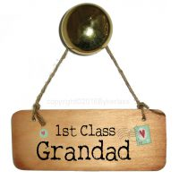 1st Class Grandad Door Sign