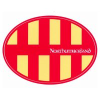 Northumberland Car Sticker