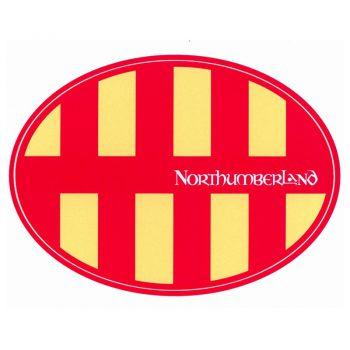 Northumberland Car Sticker