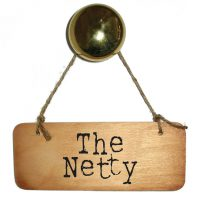 The Netty Wooden Sign