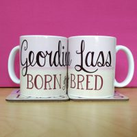 Geordie Lass Born & Bred Mug