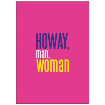 Howay Man Woman MyWorld Card