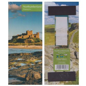 Northumberland Shopping List Magnet