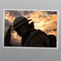 Tommy Seaham Soldier Masgnet