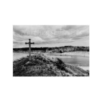 Alnmouth Cross Print