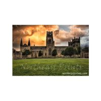 Durham Cathedral Sunset Print
