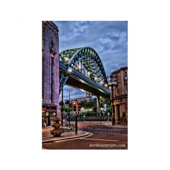Tyne Bridge Newcastle Quayside Print