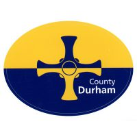 Car Bumper Sticker - County Durham