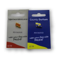 North East Flag Badges