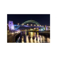Quayside Reflection Newcastle Print