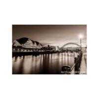 Sage Reflection Gateshead Print