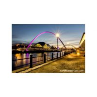 Sage and Millennium Bridge Gateshead Print