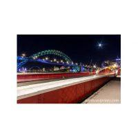 Tyne Bridge Moonlight Print
