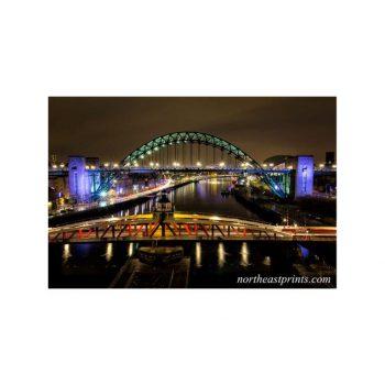 Tyne and Bridges Newcastle Gateshead Print