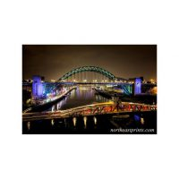 Tyne and Bridges Newcastle Gateshead Print