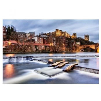 Photo Card Durham Castle and the River Wear