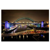 The River Tyne's Bridges Photo Card
