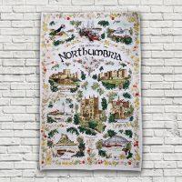 The Beauty of Northumbria Tea Towel