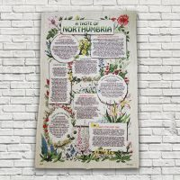 A Taste of Northumbria Recipes Tea Towel