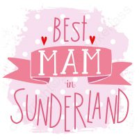 Best Mam In Sunderland Card (Large)