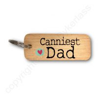 Canniest Dad North East Keyring