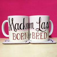 Mackem Lass Born & Bred Mug