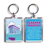 Penshaw Monument Keyring