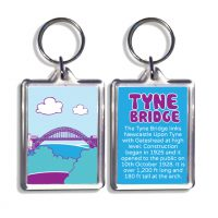 Tyne Bridge Keyring