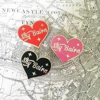 Shy Bairn Pin Badge North East Gifts
