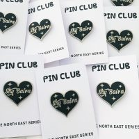Shy Bairn Pin Badge North East Gifts