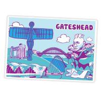 Gateshead Icons Magnet
