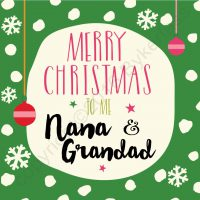 Mam & Dad Christmas Cards - North East Gifts