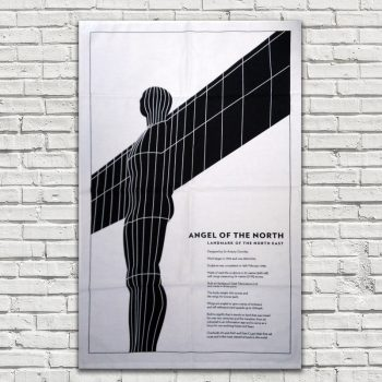 Angel Of The North Tea Towel